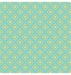 Seamless pattern with diamond shapes vector
