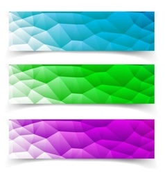 Set of Banners Eps10 Format vector image