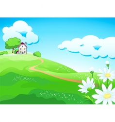 sweat country home vector image