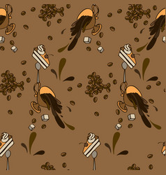Cofe pattern vector