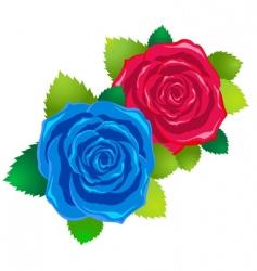 symbolic love card vector image