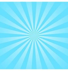 Blue rays star burst vector image vector image