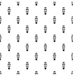 Egyptian vase pattern vector