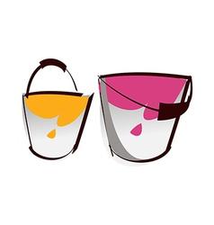 A bucket vector