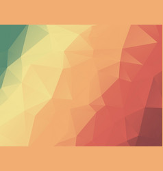 abstract color harmony triangles geometric vector image