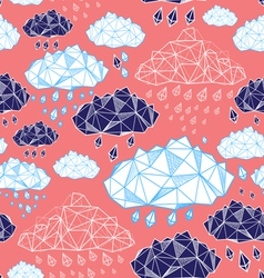 Abstract pattern of clouds vector