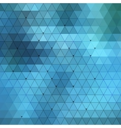 Abstract triangles background for design vector image vector image