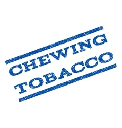 Chewing Tobacco Watermark Stamp vector