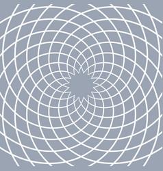 Circular lines pattern vector