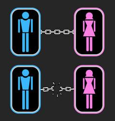 couple symbol vector image