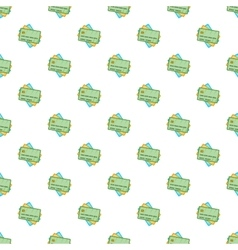 Credit card pattern cartoon style vector