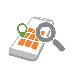 Mobile geo location searching vector