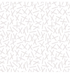 seamless sprinkles geometric background in stone vector image