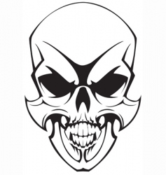 Tatto skulll vector