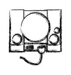 videogame console icon vector image
