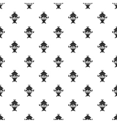 Samovar pattern simple style vector image