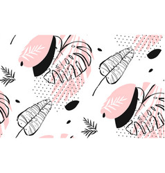 hand drawn abstract artistic freehand vector image