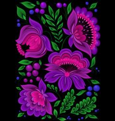 backgrounds flower pattern floral vector image