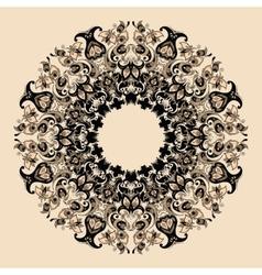Elegant mandala vector image vector image
