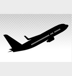 Airplane aeroplane aviation flat icon vector