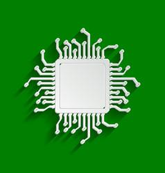 Cpu microprocessor paper vector
