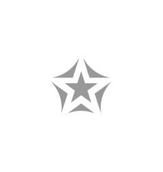 Creative star logo design template vector