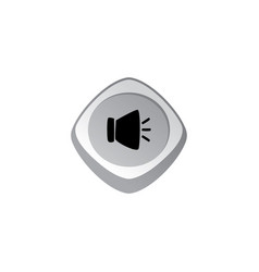 Music audio glossy color app icon button game vector