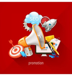Promotional and marketing technologies on a vector