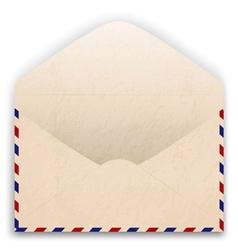 Aged Envelope Design vector image