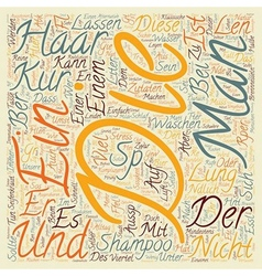 Shampoo selbstgemacht text background wordcloud vector