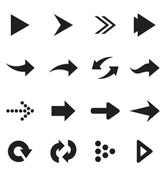 group arrow vector image