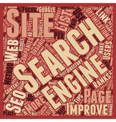 OGSEO best seo tips text background wordcloud vector image