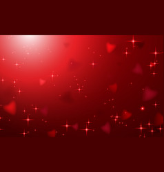 abstract happy valentines day background vector image