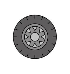car wheel service concept vehicle maintenance road vector image