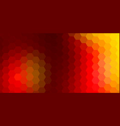 Abstract hexagonal background geometric vector