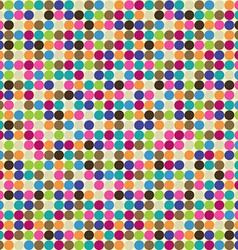 circle abstract pattern vector image