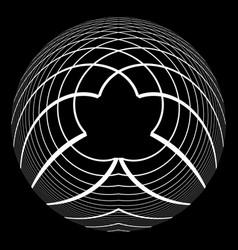 Circle spherical design element vector