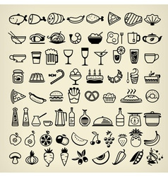 Food icons 2014 vector
