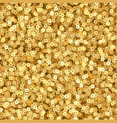 Gold luxury shimmer sequins disco party vector