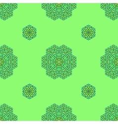 Ornamental Green Pattern vector