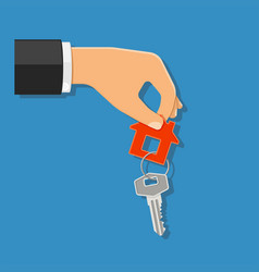 Purchase or rental real estate concept vector