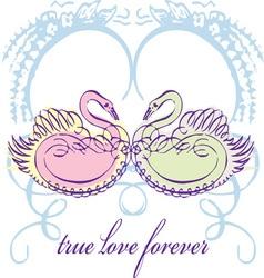 True Love Forever vector