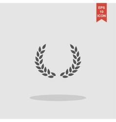 Wheat icon concept for design vector image