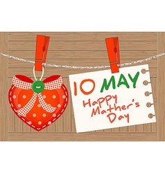 10 may happy mather day vector