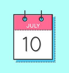 Calendar icon vector