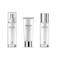 cosmetics cream moisturizer hydration vector image