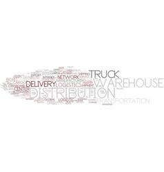 distribution word cloud concept vector image
