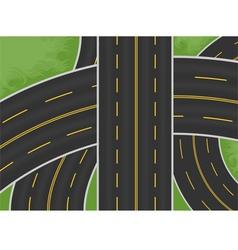 Expressway vector image