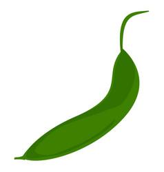 Garden peas icon cartoon style vector