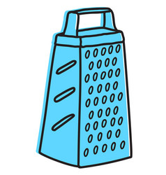 Grater hand drawn vector